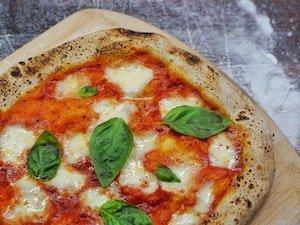 Basil on pizza - grow basil on your deck